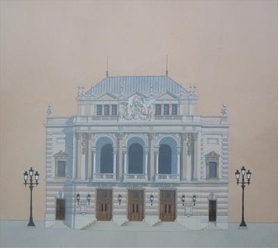 andras kaldor opera montpellier opera house originals. Black Bedroom Furniture Sets. Home Design Ideas